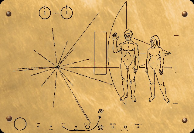 voyager 2 plaque diagram - photo #10